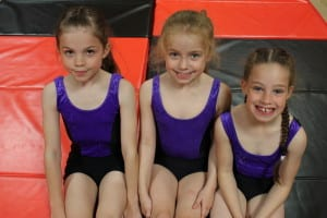 Gymnastic Dance Pupils from Sandham's Dance Bolton