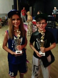 Boy & Girl Street Dancers