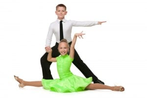 Children in Ballroom Pose