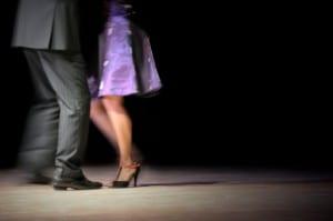 Adult Dancers Social Dance
